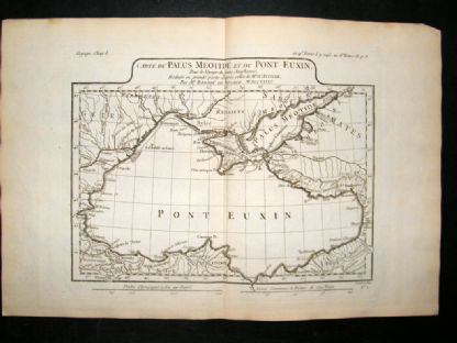 Barthelemy 1790 Antique Map Black Sea, Turkey, Ukraine, etc | Albion Prints